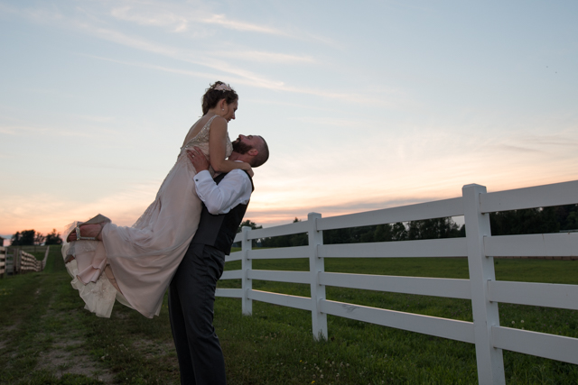 Danielle and Scott Irongate Equestrian Center Wedding Columbus O